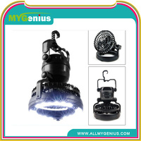 rechargeable camping lantern with fan ,W076, hot selling decorative small industrial fan light