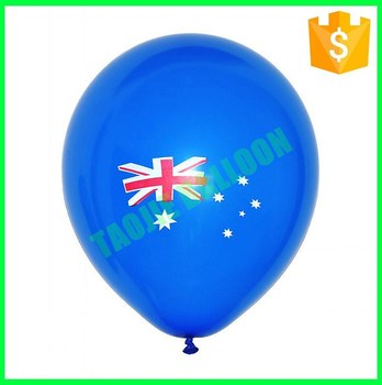 12 inches Flag printing latex balloons