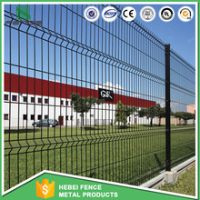 Powder Coated Welded Wire Mesh Fence / Security Nylofor 3d Fence