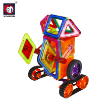 Hot sale diy set children play toys intelligence deformed 3d building blocks
