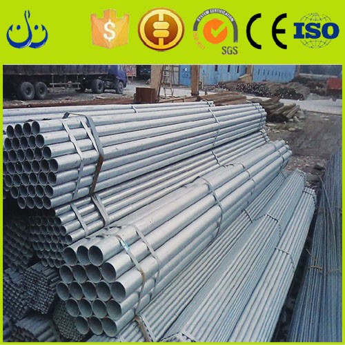 Hot dip galvanized steel pipe types of mild steel pipe astm a120 with FOB or CIF price term