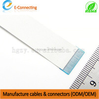 0.3mm pitch ffc cable for LCD/Printer/DVD/Computer, 1.27mm flat ribbon cable