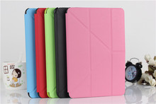 Fashion design for ipad mini case,tablet leather pu case