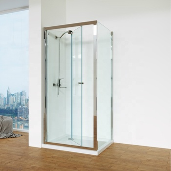 Outstanding Framed Bi-Fold Shower Enclosure 90x90 for UK Market