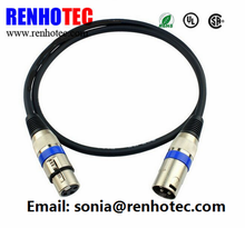 6.5MM Digital product function playback device conversion 6.35MM male to male XLR cable connector