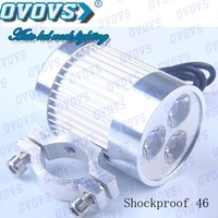 2014 New arrival 9w motorcycle led headlight with Q5 Leds for motorcar.