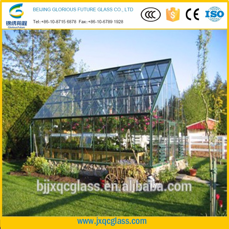 Magnificent 15mm security clear solid tempered glass for sunroom exterior wall