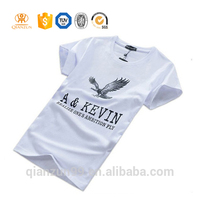 Men's 100% cotton fashion men's round neck short sleeve t-shirt