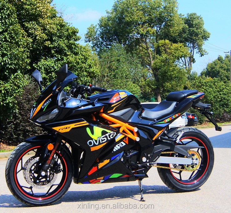 High quality chinese gasoline sport racing motorcycle eec coc petrol street motorcycle with disc brake