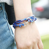 Leather Anchor Bracelet 2017 New Fashion