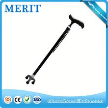 2015 new style walking stick with light and alarm, walking sticks wholesale arm walking cane