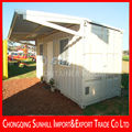 Outdoor multi-function and convenient transportation container house