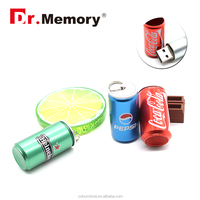 Dr.memory Hot Sale cola/Pepsi ring-pull can shape metal usb flash drive 4GB 8GB cheap price