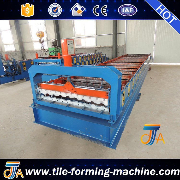 metal trapezoidal panel roll forming machine for roof and wall by bello lin