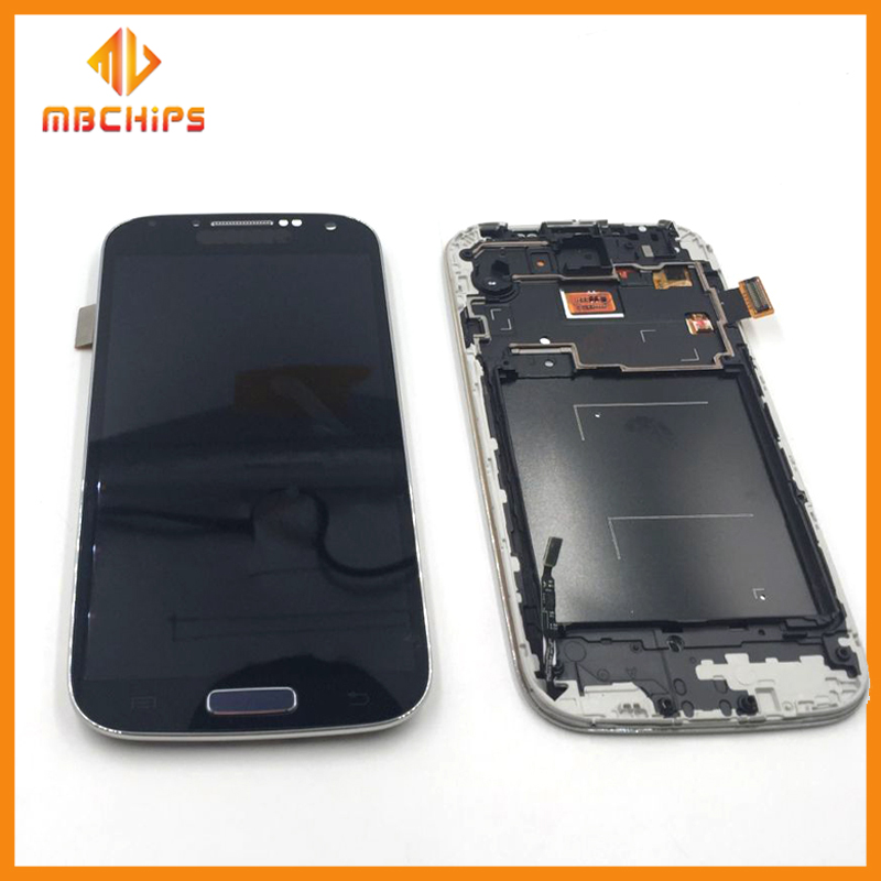 100% Pass tested LCD Display Touch Screen Digitizer Assembly For Samsung GALAXY S4 LCD i9500 I9505 i337