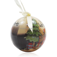 Best Price wholesale plastic hanging christmas tree ball ornaments