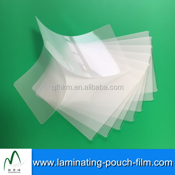 3mil 5mil 7mil IBM/DATA Cards Protection Glossy Laminated Pouches Films