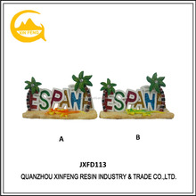 Resin Crafts Souvenir Items Spain Letter Symbol Table Decoration