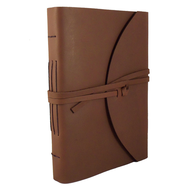 A5 Custom Recycled Waterproof Antique Pu Leather Notebook