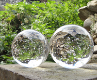 crystal ball bubble ball water fountain for garden decoration