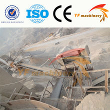 Mining Mobile impact crusher plant,pebble crushing machine