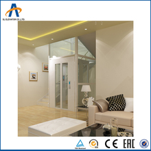 small hydraulic home lift elevator guide rail chain lift