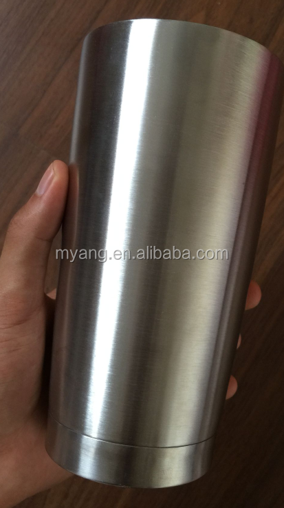 Personalized insulated bottle, double wall vacuum insulation grade stainless steel 304 BPA free Water bottle, COLA shaped flask