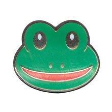 Holiday Decoration and Gift Use and Metal Material pin frog, animal lapel pin badges