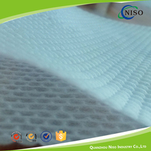 New design coat 3D embossed cotton breathable nonwoven fabric for sanatary napkin