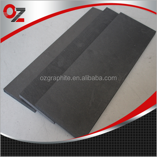 Good thermal conductivity carbon graphite sheet for plastic mould