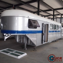 High quality china gooseneck horse trailer in line with ADR