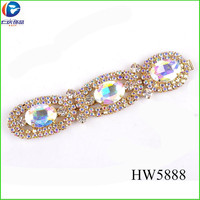 HW5888 2015 upper shoes rhinestones sandal accessories for women