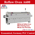 Professional SMT SMD manufacturer 6 ZONES hot air reflow oven
