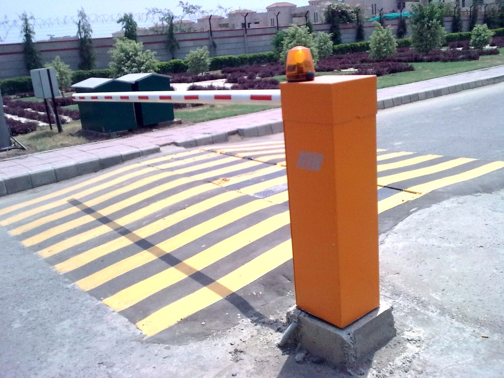 Durable Anti-collision Mechanism Road Barrier Gate/Electronic Vehicle Barrier for Shopping Mall Parking Lot