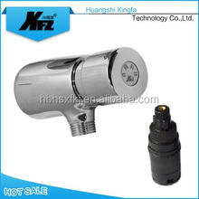 Exposed Manual Operated Time-delay Toilet Flush Valve