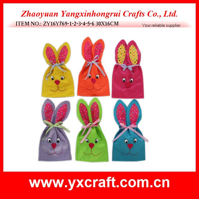 Easter decoration (ZY16Y769-1-2-3-4-5-6 30X16CM) easter china supplier bag item easter gift