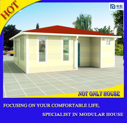 Eco friendly ready made cheap manufactured homes