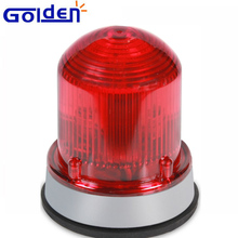 Surface Mounted Emergebncy Vehicle Amber Red Blue Green White Strobe Warning Light LED Rotating Beacon with Magnet