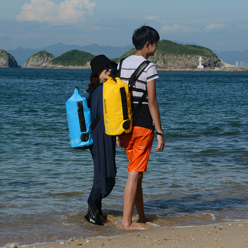 500D PVC tarpaulin Ocean pack Waterproof dry bag swimming bag with strap