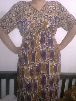 """Long Dress"" Batik Indonesia"