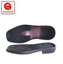 non slip and confortable men leather shoes pu sole with top quality