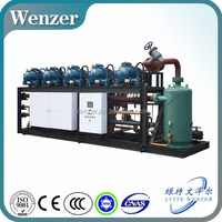 Air Cooled or Evaporating Cooling Refrigeration Compressor Rack (With Hanbell Screw Compressor)