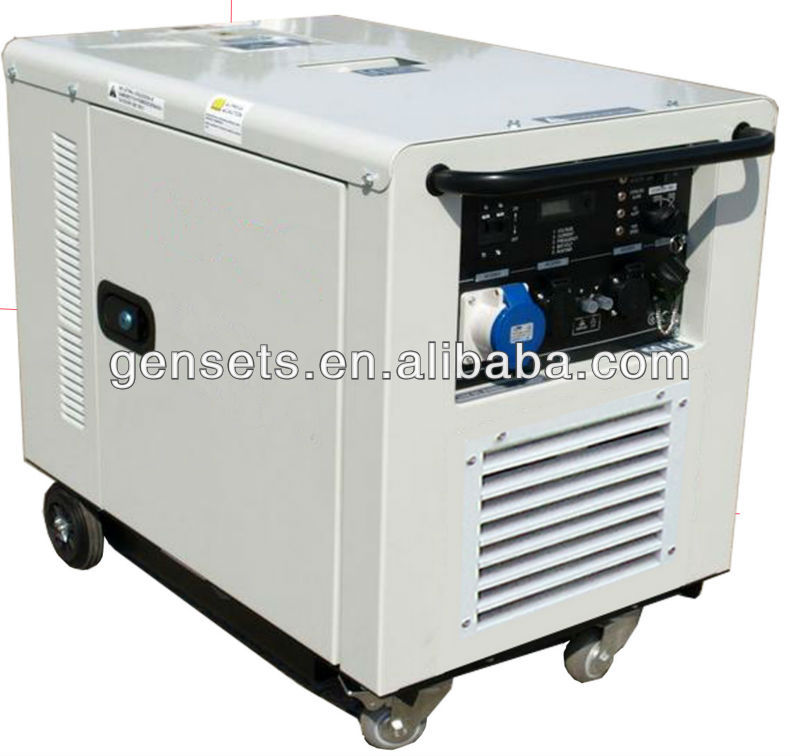 10kw/10kva GX 690 HONDA two cylinder silent portable Gasoline/petrol/Gas Generator price