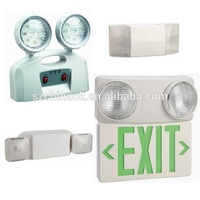 New CK-7002 SMD led super bright twin spotlight fire emergency light