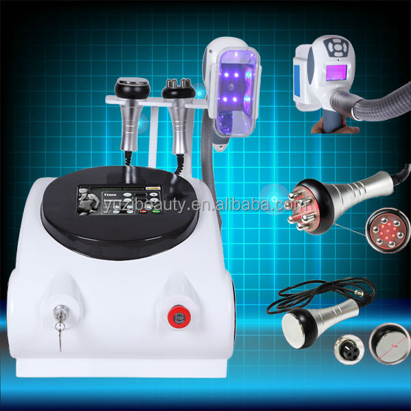 Hottest body slimming Cold Laser Diode lysis RF vacuum roller cryo fat freezing machine