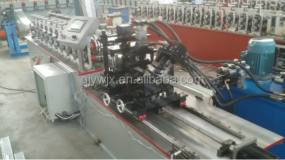 steel strip partition wall frame stud and track making roll forming machine