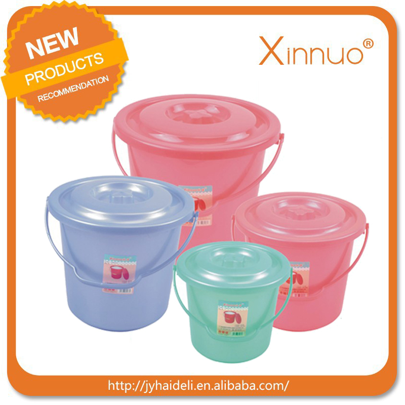 Hot sale plastic water bucket plastic products for daily houseware,factory supply