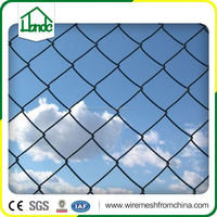 hot sale woven wire mesh temporary chain link fence panels slats