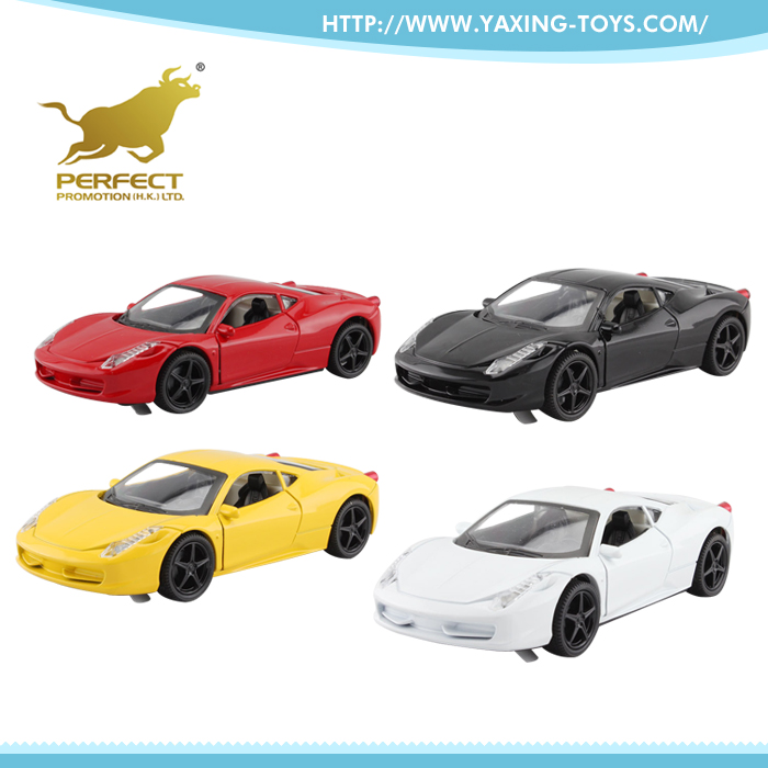 High quality children metal toy 1 32 scale diecast model cars with light and music