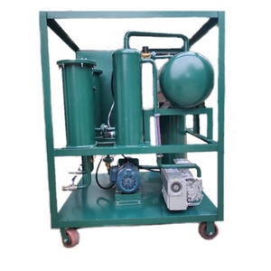 Waste Steam Turbine Lube Oil Dehydration Filtering Equipment